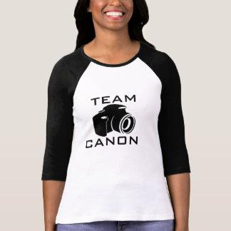 TEAM CANON Ladies 3/4 Sleeve Raglan (Fitted) Shirt