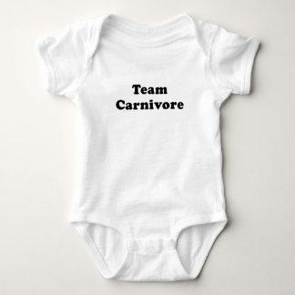 Team Carnivore Baby Bodysuit