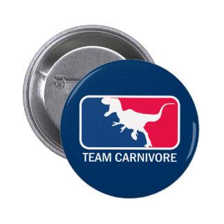 Team Carnivore Meat Lover Steak Eater Pin