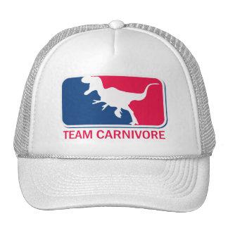 Team Carnivore Meat Lover Steak Eater Trucker Hat