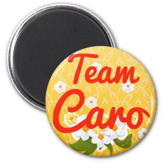 Team Caro 2 Inch Round Magnet