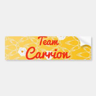 Team Carrion Bumper Sticker