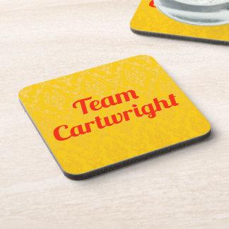 Team Cartwright Beverage Coaster