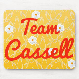 Team Cassell Mouse Pads