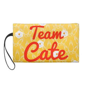 Team Cate Wristlet Clutches