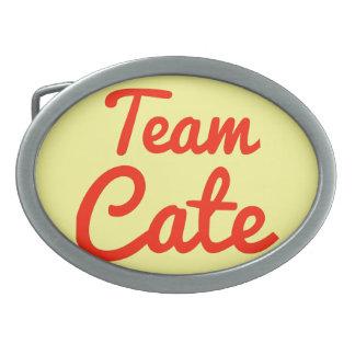 Team Cate Belt Buckle