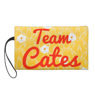 Team Cates Wristlet