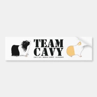 TEAM CAVY BUMPER STICKER
