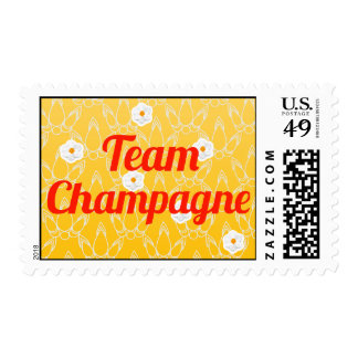 Team Champagne Postage