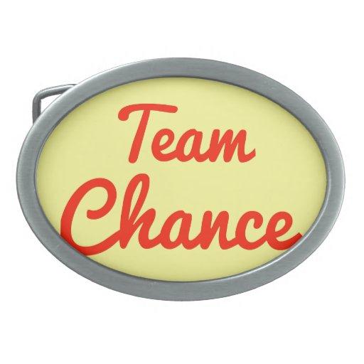 Team Chance Belt Buckle