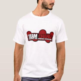 team change horizontal poster 8x19 T-Shirt