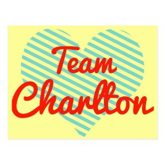 Team Charlton Postcard