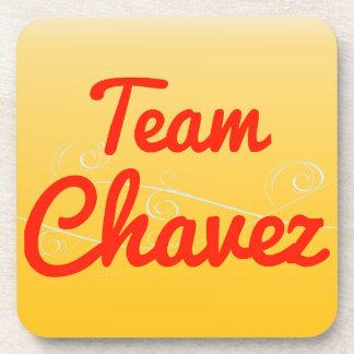 Team Chavez Beverage Coaster