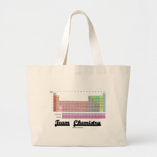 Team Chemistry (Periodic Table Of Elements) Tote Bags