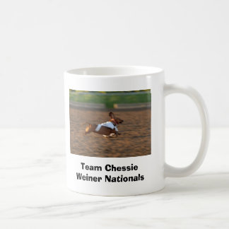 Team Chessie Weiner Nationals Classic White Coffee Mug