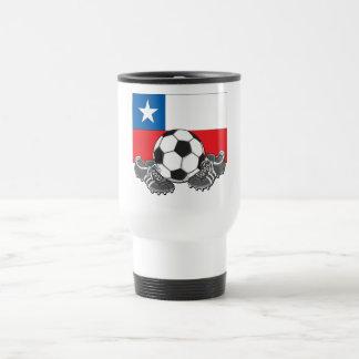 Team Chili Soccer Futbol 15 Oz Stainless Steel Travel Mug