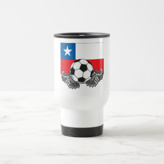 Team Chili Soccer Futbol Travel Mug
