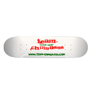TEAM-CHINGASOS, fight gear, www.team-chingasos.com Skateboard Deck