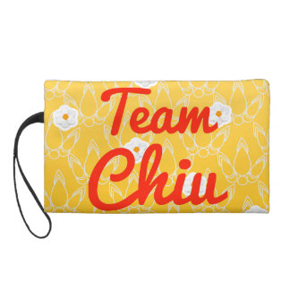 Team Chiu Wristlet Clutch