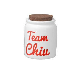 Team Chiu Candy Jar