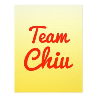 Team Chiu Flyer