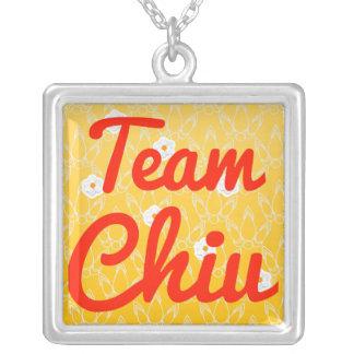 Team Chiu Necklaces