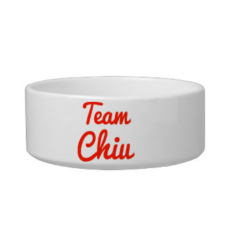 Team Chiu Cat Food Bowl