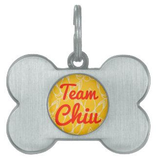 Team Chiu Pet Tags