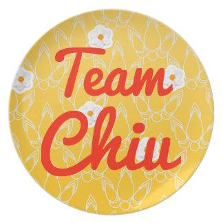 Team Chiu Plate