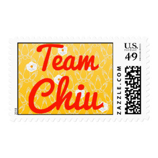 Team Chiu Postage Stamps