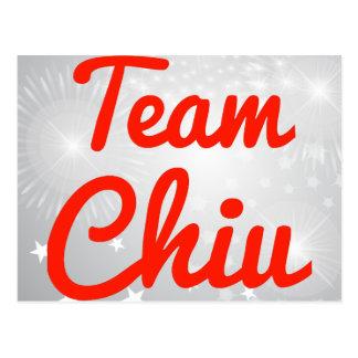 Team Chiu Postcards