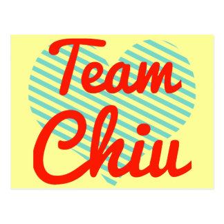 Team Chiu Post Card