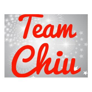 Team Chiu Post Cards