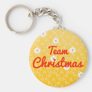Team Christmas Keychains