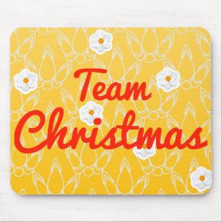 Team Christmas Mouse Pad