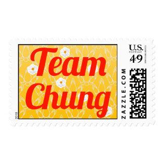 Team Chung Stamp