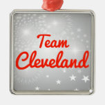Team Cleveland Christmas Tree Ornament