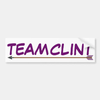 Team Clint Bumper Sticker