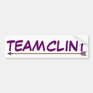 Team Clint Bumper Sticker