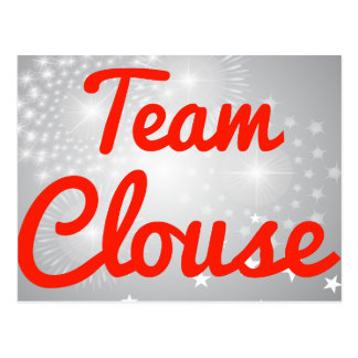 Team Clouse Postcard