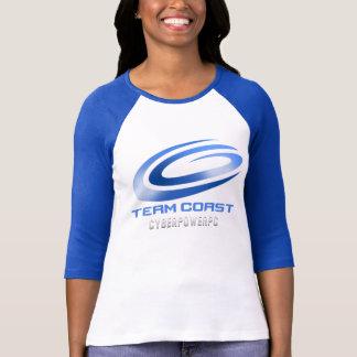 Team Coast Ladies 3/4 Sleeve Jersey T-Shirt