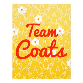 Team Coats Full Color Flyer
