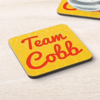 Team Cobb Drink Coasters