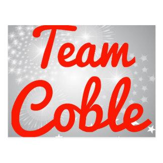 Team Coble Postcard