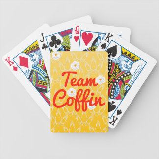 Team Coffin Bicycle Playing Cards