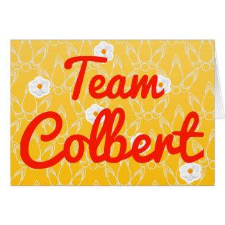 Team Colbert Greeting Card