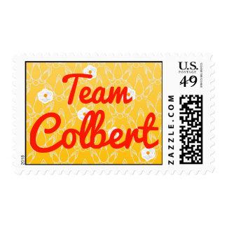 Team Colbert Postage Stamp