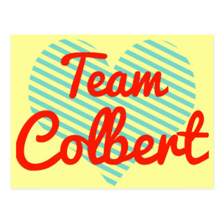 Team Colbert Postcard
