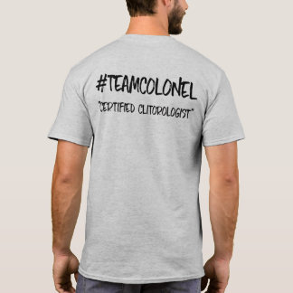 Team Colonel Certification Tee