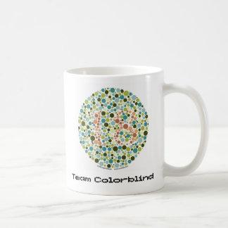 Team Colorblind Coffee Mug